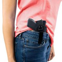 ComfortTac Gun Holster for Men & Women - Concealed Carry Holster - Wear Inside (IWB) or Outside (OWB) The Waistband - Gun Accessories with Multiple Sizes