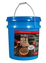 "Blue Ridge Fish Food, Cool Water Wheat Formula Floating 3/16"" Pellet, Koi and Goldfish"