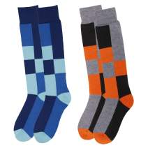 Kids Ski Socks Full Terry Lightweight Warm Merino Wool Skiing Socks