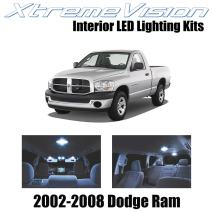 Xtremevision Interior LED for Dodge Ram 2002-2008 (10 Pieces) Cool White Interior LED Kit + Installation Tool