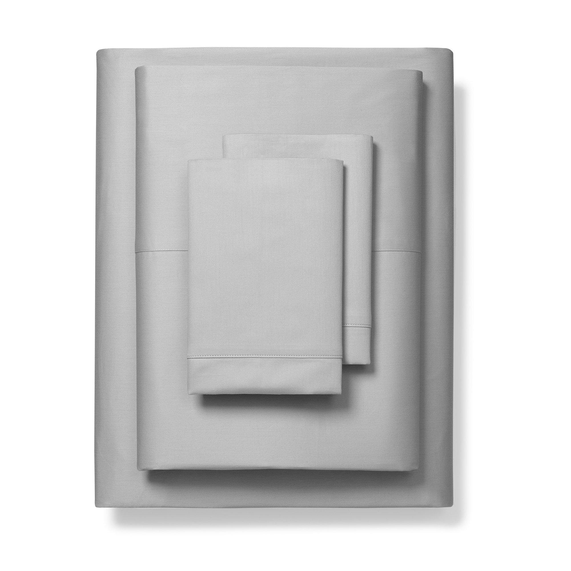 Boll & Branch Luxury Fair Trade Long Staple Organic Cotton Sheet Set - Full, Pewter