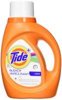 Tide Plus Bleach Alternative Safe on Colors Liquid Laundry Detergent, Original Scent, 1.36 L (24 Loads)