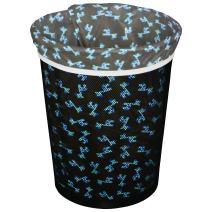 Planet Wise Reusable Trash Diaper Bag, Blue Giraffe