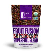 Made In Nature Organic Superberry Fruit Fusion Trail Mix, 24oz - Non-GMO Dried Fruit and Nut Trail Mix