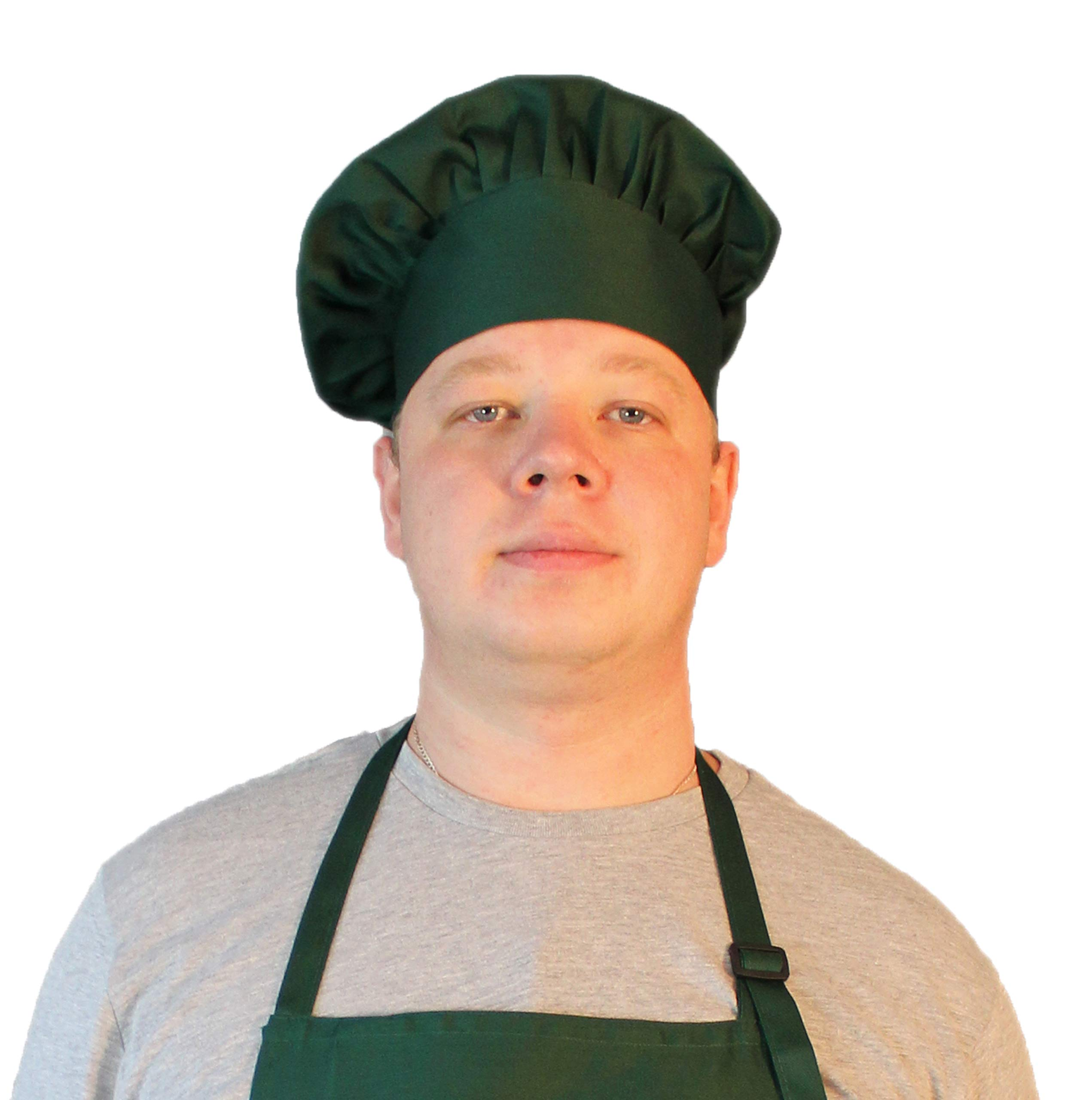 Personalized Custom Chef Hat Adjustable Makes a Great Gift! 5 Colors - White/Black/Red/Navy Blue/Dark Green