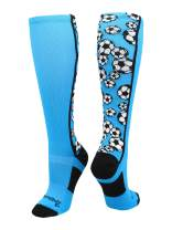 MadSportsStuff Crazy Soccer Socks with Soccer Balls Over The Calf (Multiple Colors)