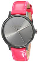Nixon Women's Kensington Stainless Steel Watch with Leather Band