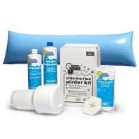 In The Swim Winterizing and Closing Chemical Kit Basic Bundle with 4 ½ x 15 Foot Air Pillow