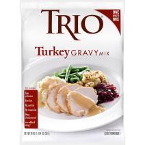 Trio Turkey Gravy Mix, Just Add Water, 20 oz Bag