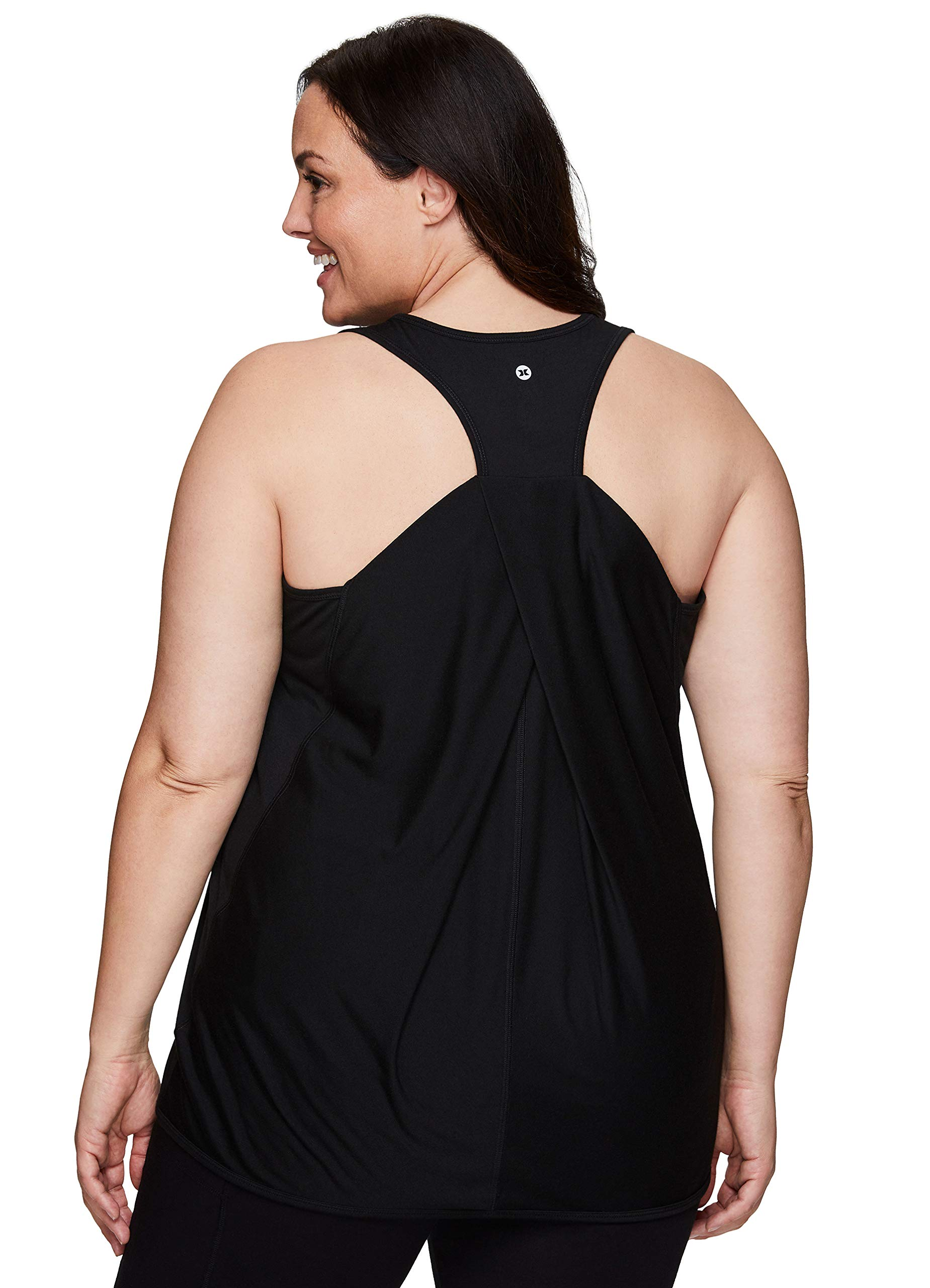 RBX Active Women's Plus Size Sleeveless Relaxed Fashion Workout Yoga Tank Top