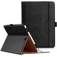 ProCase Galaxy Tab S2 9.7 Case - Leather Stand Folio Case Cover for Galaxy Tab S2 Tablet (9.7 inch, SM-T810 T815 T813) -Black