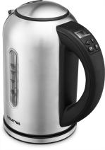Gourmia GDK260 Digital Electric Kettle -Rotates 360° -Cordless - Variable Temperature Control & Display Handle - Fast Boil - Clear Water Gauge -Keep Warm Setting -1.7L -1500W - Stainless Steel
