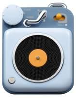 Muzen Audio Berry Blue Button Portable Wireless High Definition Audio Bluetooth Speaker - Classic Vintage Retro Design