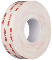 "3M VHB Heavy Duty Mounting Tape 4950, 4"" width x 5yd length (1 Roll)"