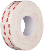 3M VHB 4950 Heavy Duty Mounting Tape - 0.375 in. x 15 ft. Permanent Bonding Tape Roll with Acrylic Foam Core. Tapes and Adhesives