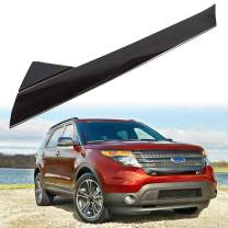 A-Pillar Front Molding Windshield Outer Trim Inner Replacement for BB5Z-7803145-AA, BB5Z-7803137-AB W/Side Tape For 2011-2019 Ford Explorer 4 Door Utility (Right)