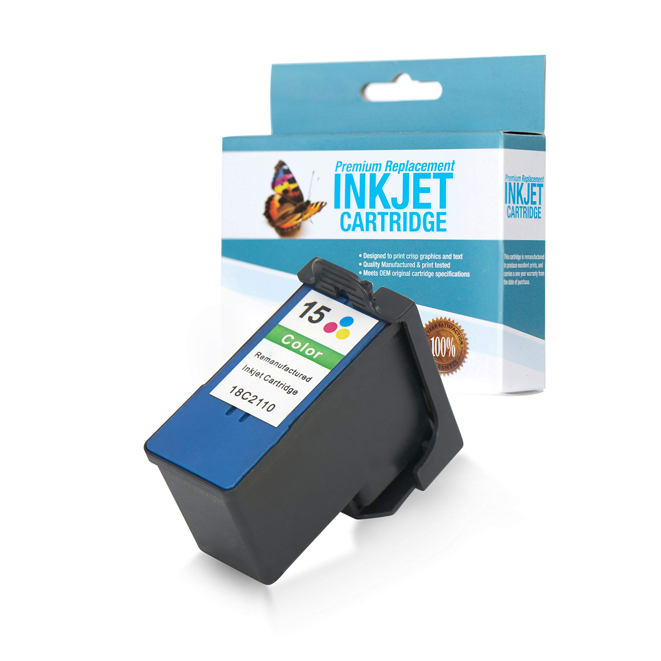 SuppliesOutlet Remanufactured Ink Cartridge Replacement for Lexmark 18C2110 / 18C2110 (Color,1 Pack)