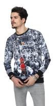 PIZOFF Long Sleeve Hip Hop 3D Print Basketball Sweatshirts
