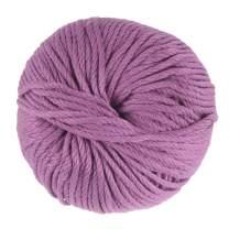 JubileeYarn Bamboo Cotton Chunky Yarn - Deep Purple - 2 Skeins