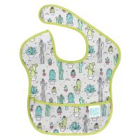 Bumkins SuperBib, Baby Bib, Waterproof, Washable, Stain and Odor Resistant, 6-24 Months – Cactus