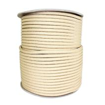 SGT KNOTS Braided Polyester Rope (1/4 in - 6mm) Braid on Braid Stiff Halter Cord - DIY Horse Halter - Low Stretch 6mm Cord for Arborist/Tree Rigging, Climbing, Hiking, Crafting