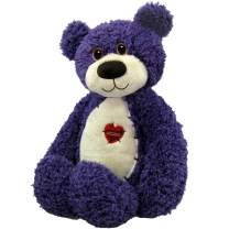 First & Main Purple Tender Teddy Plush Toy