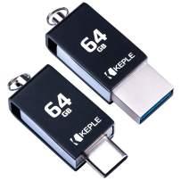 USB Memory Stick 64GB USB C 3.0 High Speed Dual OTG Pen Flash Drive Compatible with Asus ZenPad S 8.0 Z580C, 3S 10 Z500M, Z10 ZT500KL, Z8s ZT582KL Tablet   64 GB Type C Data Thumb Drive