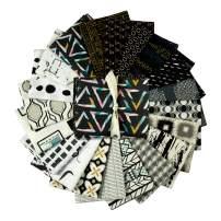 Art Gallery Fabrics Exclusive Bundle 20 Half Yard Black & White Black/White