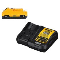 DEWALT 20V MAX Battery Pack with Charger, 3-Ah (DCB230C)
