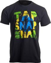 Tap, Snap, or Nap | Brazilian Jiu-Jitsu, BJJ Jiu Jitsu Brazil Unisex T-Shirt