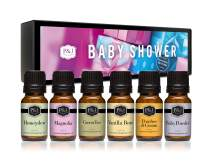 P&J Trading Fragrance Oil | Baby Shower Set of 6 - Scented Oil for Soap Making, Diffusers, Candle Making, Lotions, Haircare, Slime, and Home Fragrance