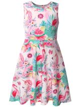 Bonny Billy Girl's Cacual Summer Tank Dresses for Kids