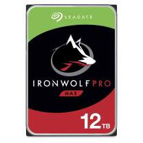 Seagate IronWolf Pro 12TB NAS Internal Hard Drive HDD – 3.5 Inch SATA 6Gb/s 7200 RPM 256MB Cache for RAID Network Attached Storage Data Recovery Service – Frustration Free Packaging