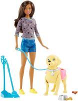 Barbie Walk & Potty Pup, Brunette