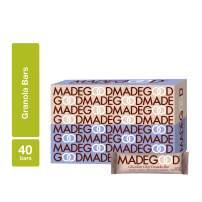 MadeGood Chocolate Chip Granola Bars; 40 Bars of Rich Dark Chocolate Chips and Gluten Free Oats