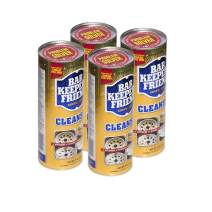 Bar Keepers Friend Powder Cleanser 21 oz - Multipurpose Cleaner & Stain Remover - Bathroom, Kitchen & Outdoor Use - for Stainless Steel, Aluminum, Brass, Ceramic, Porcelain, Bronze and More (4)