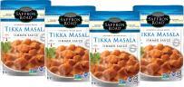 Saffron Road Simmer Sauce, Non-GMO, Gluten-Free, Halal, Tikka Masala, Tikka Masala, 4 Count