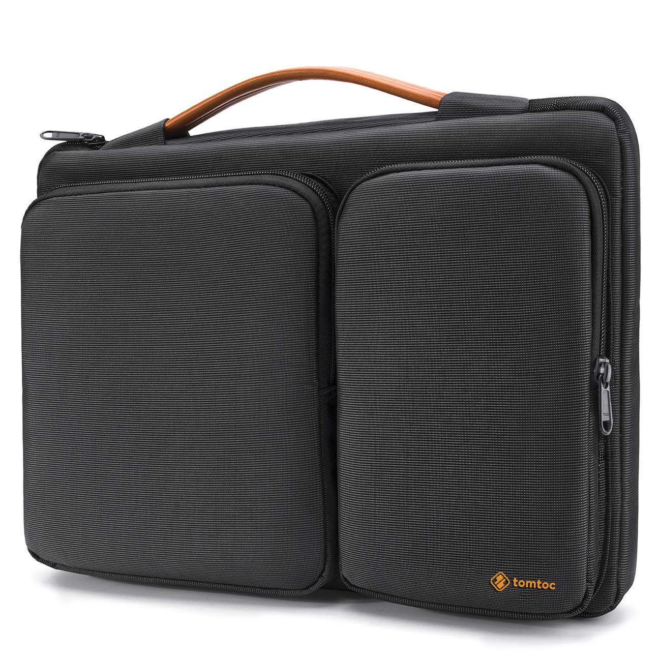tomtoc 360 Protective Laptop Sleeve for 12.3 Surface Pro X/7/6/5/4, 13-inch New MacBook Air Retina A2179 A1932, MacBook Pro w/USB-C A2251 A2289 A2159 A1989, 12.9 iPad Pro 3/4 Gen, Water-Resistant Bag