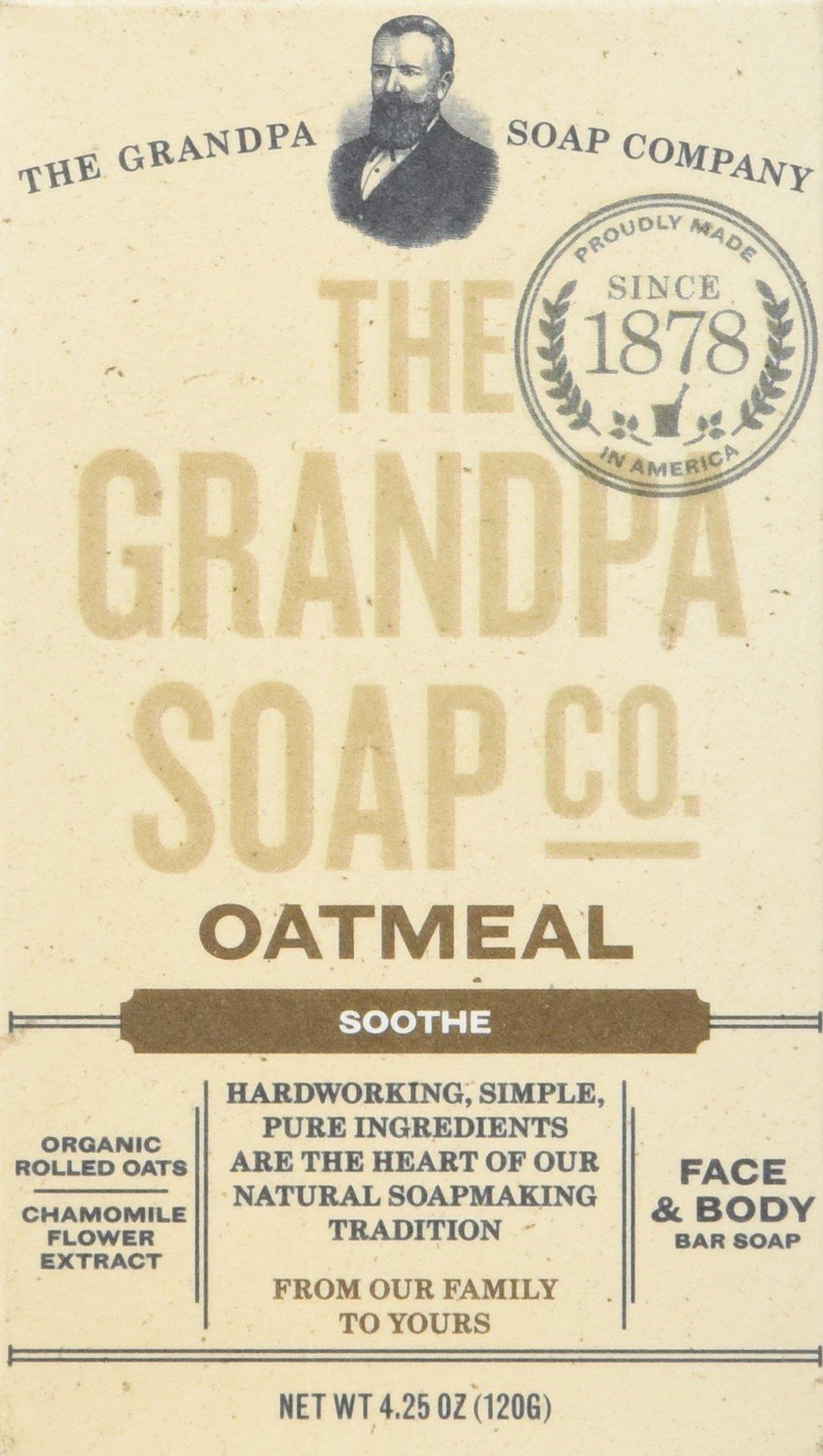 Grandpas Soap Bar Oatmeal, 1 Count