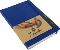 "Pentalic Traveler Pocket Journal Sketch, 8"" x 6"", Royal Blue"