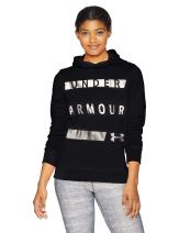 Under Armour Women's Synthetic Word Mark Fleece Pullover