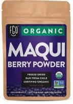Organic Maqui Powder | 2oz Resealable Kraft Bag | 100% Raw From Chile | by FGO