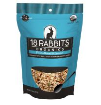 18 Rabbits Organic Gracious Granola, Pecan, Almond & Coconut, 11 Ounce bag
