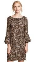 Three Dots Women's Leopard Print Dress