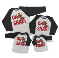 7 ate 9 Apparel Matching Family Christmas Shirts - Oh Snap Grey Shirt