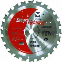Mercer Abrasives 715382 24-Tooth ATB Carbide Wood Cutting Blade with 5-3/8-Inch Diameter and 5/8-Inch Arbor