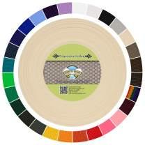 Country Brook Design - Polypropylene Webbing (Cream, 50 Yards, 1 Inch)