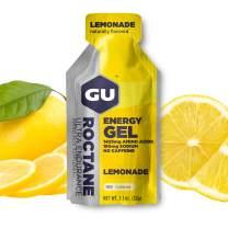 GU Energy Roctane Ultra Endurance Energy Gel, 24-Count, Lemonade