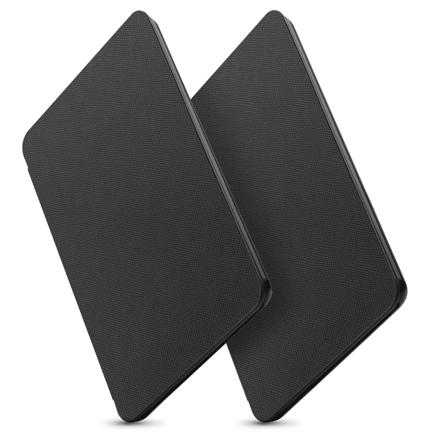 OMOTON Kindle Paperwhite Case (10th Generation-2018) 2 Pack, Smart Shell Cover with Auto Sleep Wake Feature for Kindle Paperwhite 10th Gen 2018 Released,Black+Black