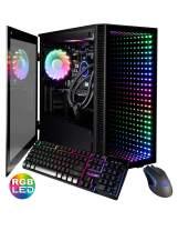 CUK Continuum Micro Gamer PC (Intel i9-9900KF with Liquid Cooling, 64GB RAM, 2TB NVMe SSD + 2TB HDD, NVIDIA GeForce RTX 2080 Ti 11GB, 750W Gold PSU, Z390 Motherboard) Tower Gaming Desktop Computer
